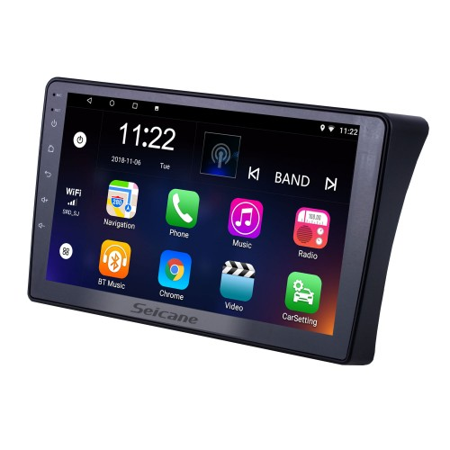 For 2010 2011 2012-2015 Nissan Navara Radio 9 inch Android 10.0 HD Touchscreen GPS Navigation with Bluetooth USB support Carplay SWC