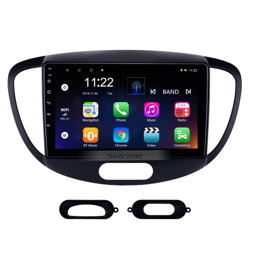 HD Touchscreen 9 inch Android 10.0 GPS Navigation Radio for 2010-2013 Old Hyundai i20 with Bluetooth AUX support Carplay Steering Wheel Control