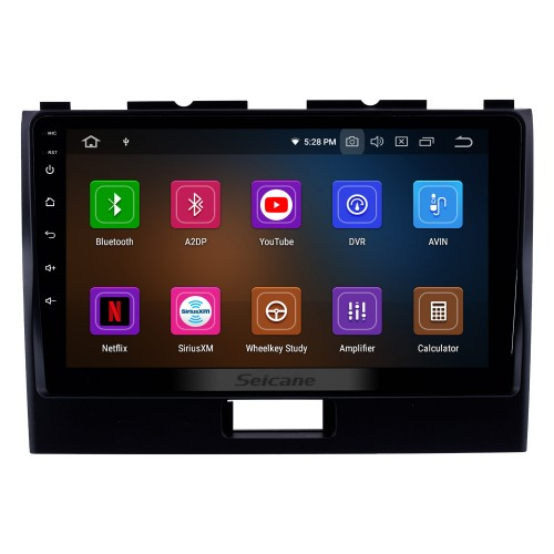 2010-2018 Suzuki WAGONR 9 Inch Android 10.0 Car Stereo GPS Navigation System Radio with HD Touchscreen Bluetooth WIFI USB Support DAB+ OBDII SWC