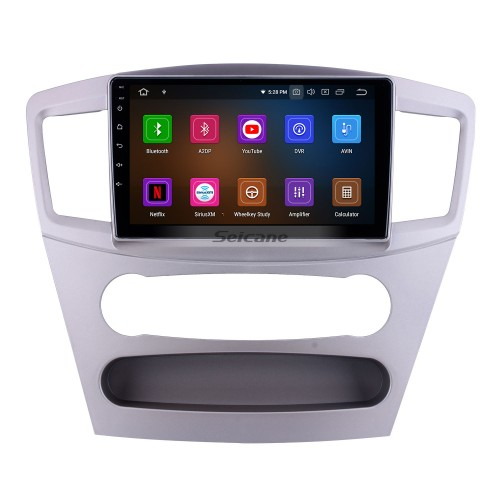For 2010 Mitsubishi Galant Radio HD Touchscreen 9 inch Android 10.0 Bluetooth with GPS Navigation System Carplay support 1080P