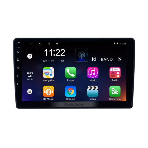 9 inch GPS Navigation Radio Android 10.0 for 2011-2017 Lada Granta With HD Touchscreen Bluetooth support Carplay Backup camera