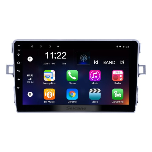 Android 10.0 9 inch Touchscreen GPS Navigation Radio for 2011-2016 Toyota Verso with USB WIFI Bluetooth Music AUX support Carplay Digital TV SWC