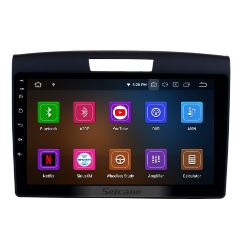 All in one 2011 2012 2013 2014 2015 Honda CRV Android 10.0 CD DVD Radio GPS Navigation system Bluetooth Music Audio USB WIFI Support Aux TPMS DVR 1080P Video Steering Wheel Control