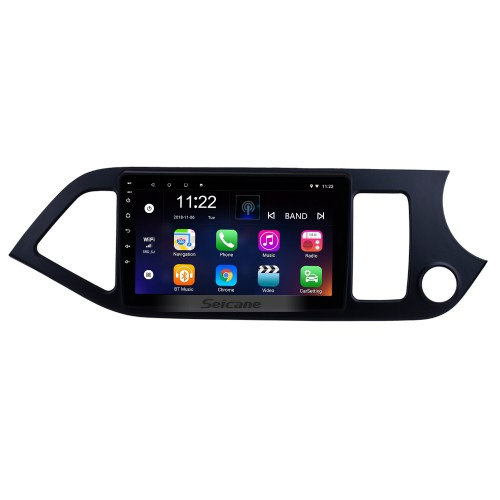 Android 10.0 Multimedia player for 2011-2014 KIA Picanto Morning RHD 9 inch HD Touchscreen Radio  WIFI OBD2 Bluetooth GPS Navigation system Mirror link DVR Backup camera TV USB HD 1080P Video Steering Wheel control