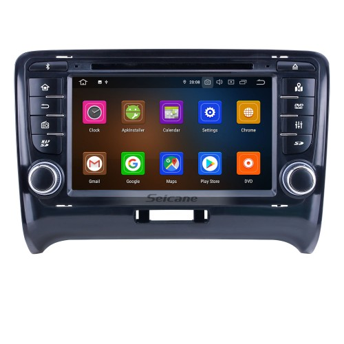 OEM 7 inch Android 10.0 for 2011 Audi TT Radio Bluetooth HD Touchscreen GPS Navigation System Carplay support DVR 1080P Video