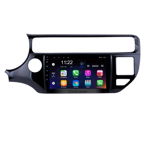 9 inch 2012 2013 2014 2015 KIA Rio LHD Android 10.0 HD Touchscreen Radio Installation Support GPS Navigation WIFI Audio system Aux Bluetooth Music USB SD Rearview Camera