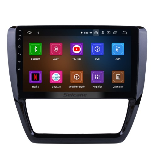 10.2 inch 2015 VW Volkswagen SAGITAR Radio GPS Navigation System Android 5.0.1 with 1024*600 Touchscreen Bluetooth Music OBD2 DVR TV 4G WIFI Steering Wheel Control USB Quad Core Mirror link Backup Camera