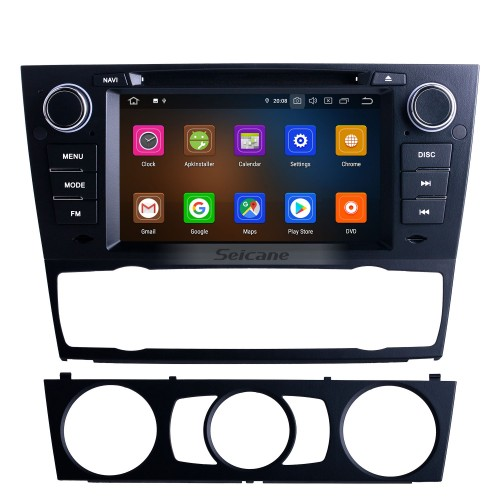 7 inch For 2012 BMW 3 Series E90 Auto/Manual A/C Radio Android 10.0 GPS Navigation System with Bluetooth HD Touchscreen Carplay support Digital TV