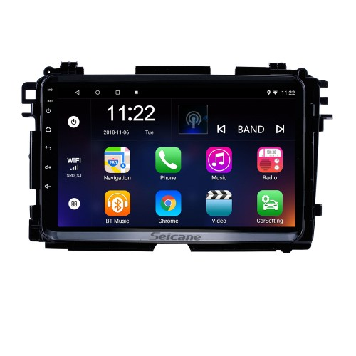 2015 2016 2017 HONDA Vezel XRV 9 inch Android 10.0 Radio GPS Navigation system with USB WIFI Bluetooth support Mirror Link OBD2 Steering Wheel Control