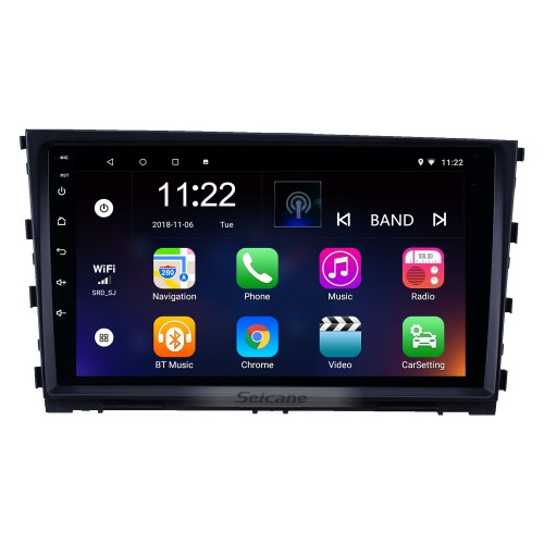 9 inch Android 10.0 HD Touchscreen GPS Navigation Radio for 2013-2016 Hyundai Mistra with Bluetooth AUX support DVR Carplay TPMS Backup camera