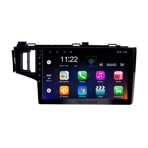 10.1 inch Android 10.0 GPS Navigation Radio for 2013-2015 Honda Fit LHD With HD Touchscreen Bluetooth support Carplay TPMS