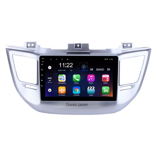 9 Inch HD Touchscreen Android 10.0 for 2014 2015 2016 2017 2018 Hyundai TUCSON GPS Navigation System Radio with Bluetooth USB support Carplay Steering Wheel Control
