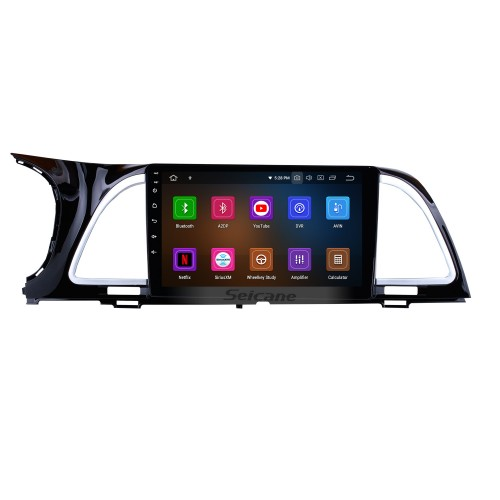 9 inch Android 10.0 2014 2015-2018 Kia k4 Cachet Radio GPS Navigation System with HD touchscreen Bluetooth Steering Wheel Control Digital TV Mirror Link Backup Camera TPMS RDS AUX