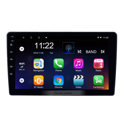 2014-2018 Renault Duster Android 10.0 Touchscreen 9 inch Bluetooth GPS Navigation Radio with AUX support OBD2 SWC Carplay