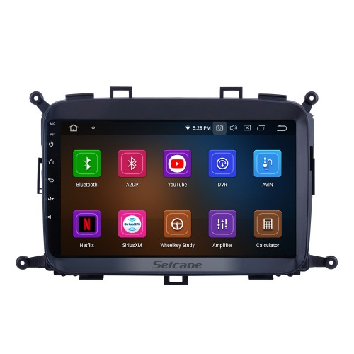 OEM 9 inch Android 10.0 for 2014 2015 2016 2017 Kia Carens Radio Bluetooth HD Touchscreen GPS Navigation System Carplay support DVR