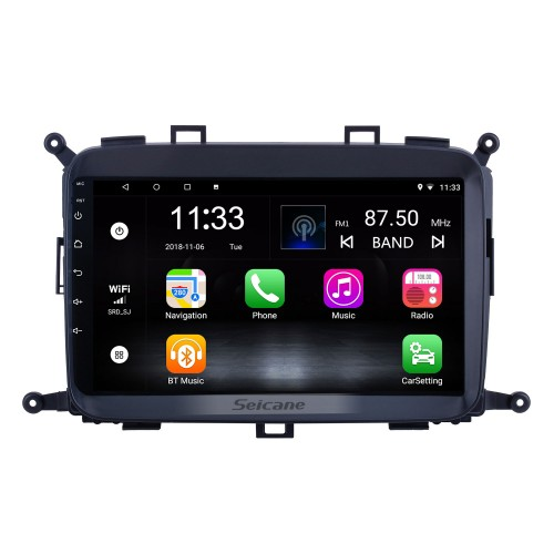OEM 9 inch Android 10.0 for 2014 2015 2016 2017 Kia Carens Radio Bluetooth HD Touchscreen GPS Navigation System support Carplay DAB+ OBD2