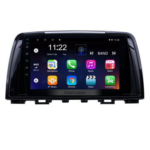 2014-2016 Mazda Atenza Android 10.0 HD Touchscreen 9 inch AUX Bluetooth WIFI USB GPS Navigation Radio support OBD2 SWC Carplay