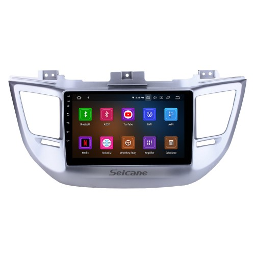 HD Touchscreen 9 inch Android 10.0 GPS Navigation Radio for 2014-2016 Tucson IX35 with AUX Bluetooth WIFI Carplay support 1080P Video DAB+