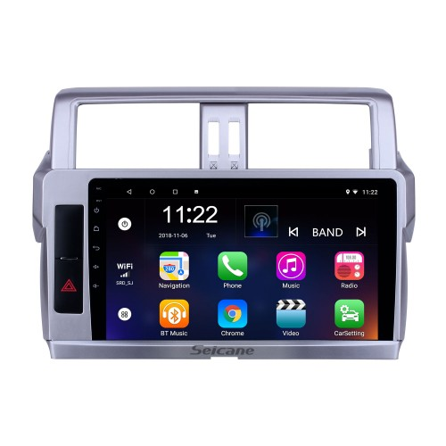 10.1 inch GPS Navigation Radio Android 10.0 for 2014 Toyota Land Cruiser Prado With HD Touchscreen Bluetooth support Carplay Backup camera