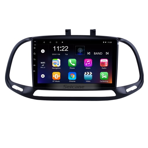 OEM 9 inch Android 10.0 for 2015 2016 2017 2018 Fiat Dobe 10 Radio Bluetooth HD Touchscreen GPS Navigation support Carplay DAB+ OBD2