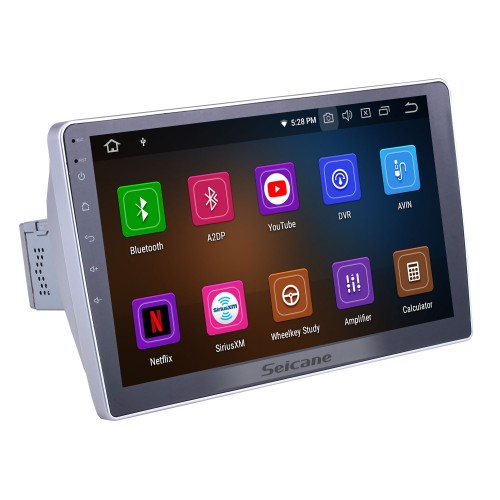 HD Touchscreen for 2015 2016 2017 Dongfeng Ruiqi Radio Android 10.0 10.1 inch GPS Navigation System Bluetooth WIFI Carplay support DAB+