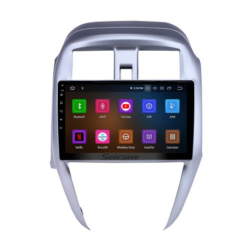 Android 10.0 GPS Navigation 10.1 inch HD Touchscreen Stereo for 2015 2016 Nissan Old Sunny Bluetooth FM WIFI USB Steering Wheel Control USB Carplay AUX support DVR OBD2