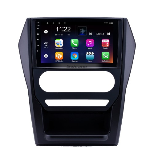 OEM 9 inch Android 10.0 Radio for 2015 Mahindra Scorpio Auto A/C Bluetooth WIFI HD Touchscreen GPS Navigation support Carplay DVR Rearview camera
