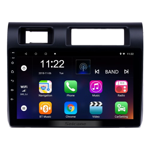 HD Touchscreen 9 inch Android 10.0 GPS Navigation Radio for 2015 Toyota Land Cruiser/LC79 with Bluetooth support Carplay Steering Wheel Control