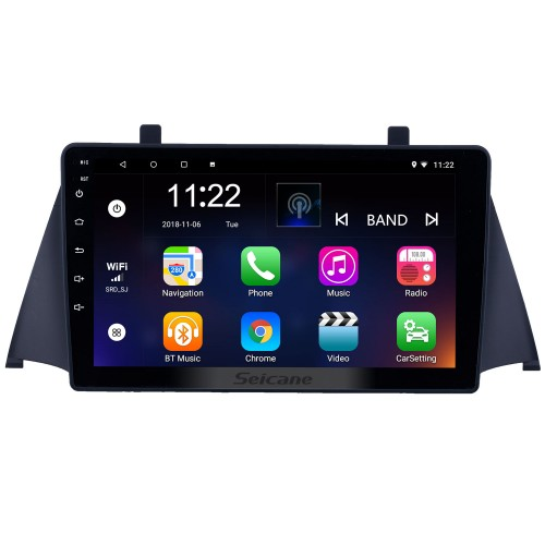 HD Touchscreen 9 inch Android 10.0 GPS Navigation Radio for 2015 Zotye Domy x5 with Bluetooth AUX WIFI support Carplay DAB+ DVR TPMS