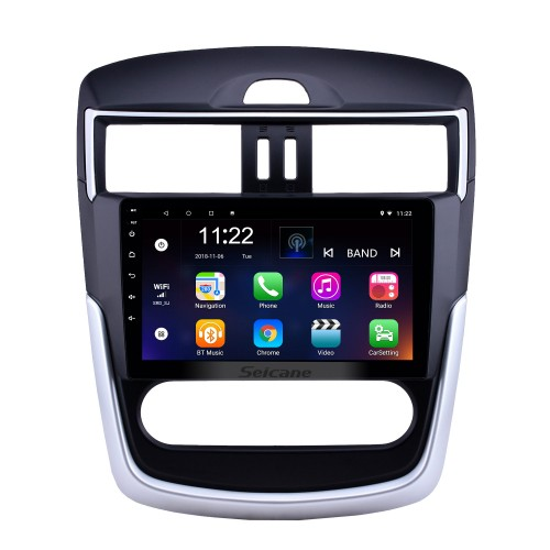 OEM 9 inch Android 10.0 Radio for 2016-2018 Nissan Tiida Bluetooth WIFI HD Touchscreen GPS Navigation support Carplay DVR Rear camera