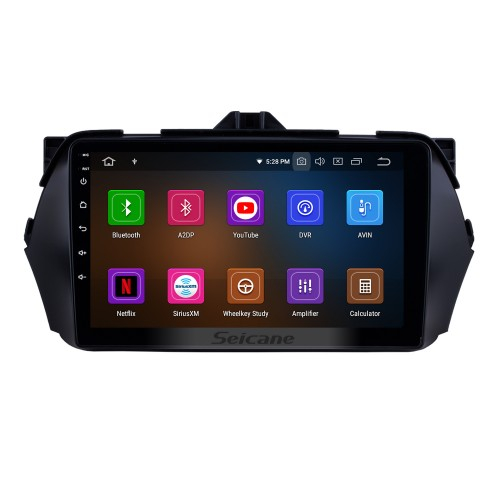 2016 SUZUKI Alivio Android 10.0 HD Touchscreen DVD Player GPS Navigation system Radio with Bluetooth USB WIFI Mirror Link 1080P Video