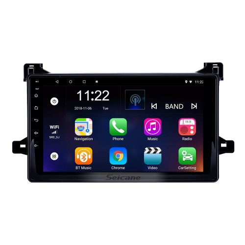 9 inch Android 10.0 Radio for 2016 Toyota Prius Bluetooth WIFI HD Touchscreen GPS Navigation support Carplay DVR Rearview camera