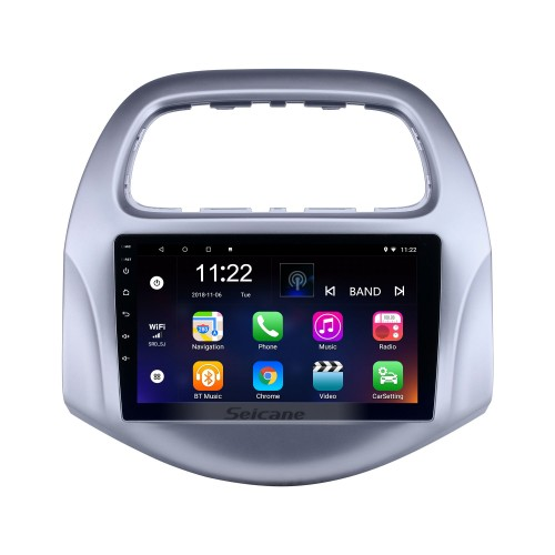 HD Touchscreen 9 inch Android 10.0 GPS Navigation Radio for 2018-2019 chevy Chevrolet Daewoo Matiz/ Spark/ Baic/ Beat with Bluetooth AUX support DVR Carplay OBD