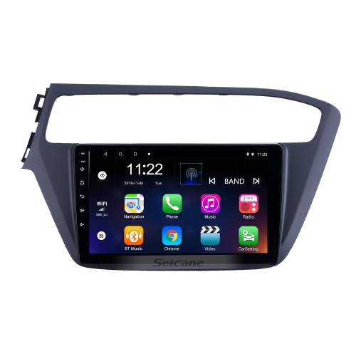 2018-2019 Hyundai i20 LHD Android 10.0 Touchscreen 9 inch Head Unit Bluetooth GPS Navigation Radio with AUX WIFI support OBD2 DVR SWC Carplay