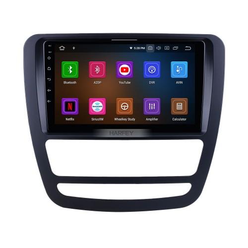 Android 10.0 For 2018 JAC Shuailing T6/T8 Radio 9 inch GPS Navigation System Bluetooth AUX HD Touchscreen Carplay support DSP