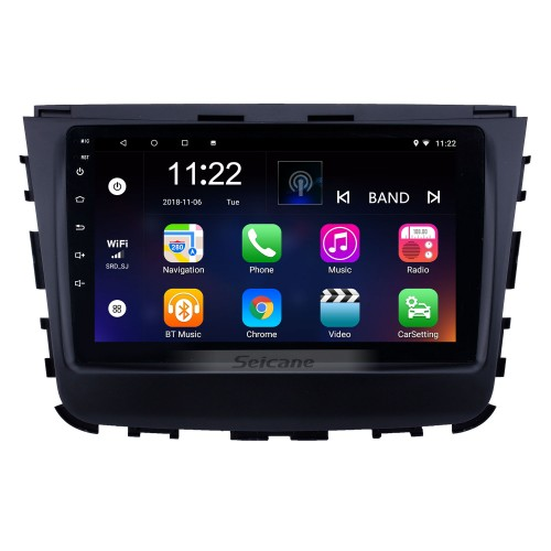 2018 Ssang Yong Rexton 9 inch Android 10.0 HD Touchscreen Bluetooth GPS Navigation Radio USB AUX support Carplay WIFI Backup camera
