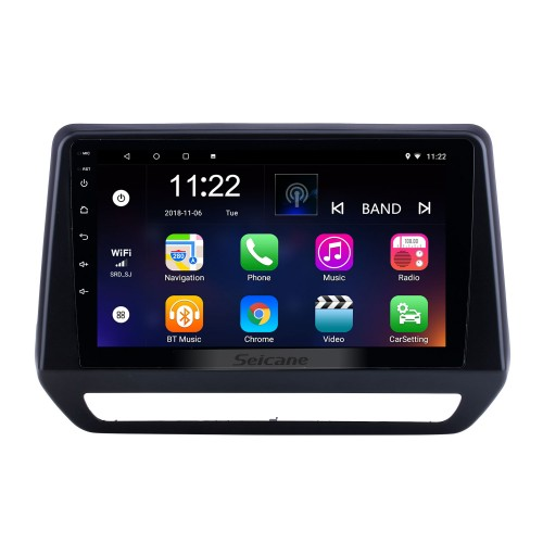 For 2019 Renault Triber Radio Android 10.0 HD Touchscreen 9 inch GPS Navigation with Bluetooth USB support Carplay SWC DVR