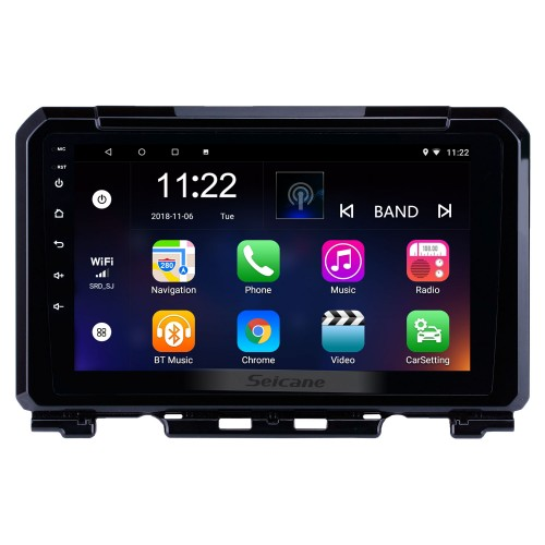 Hot selling 9 inch HD Touchscreen Android 10.0 2019 Suzuki JIMNY GPS Navigation Radio with USB WIFI Bluetooth support TPMS DVR SWC Carplay