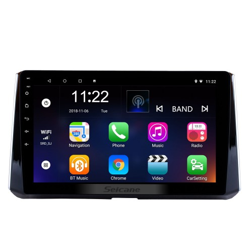 10.1 inch Android 10.0 2019 Toyota Corolla Head unit HD Touchscreen Radio GPS Navigation System Support 3G Wifi Steering Wheel Control Video Carplay Bluetooth DVR