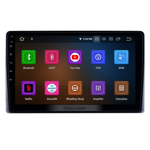 HD Touchscreen 10.1 inch for 2019 Toyota Previa Radio Android 10.0 GPS Navigation System Bluetooth Carplay support DSP DVR