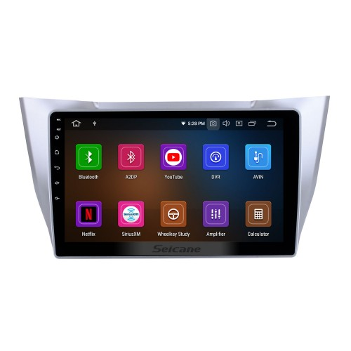 OEM 10.1 inch Android 10.0 Radio for 2003-2010 Lexus RX300 RX330 RX350 Bluetooth HD Touchscreen GPS Navigation AUX Carplay support TPMS
