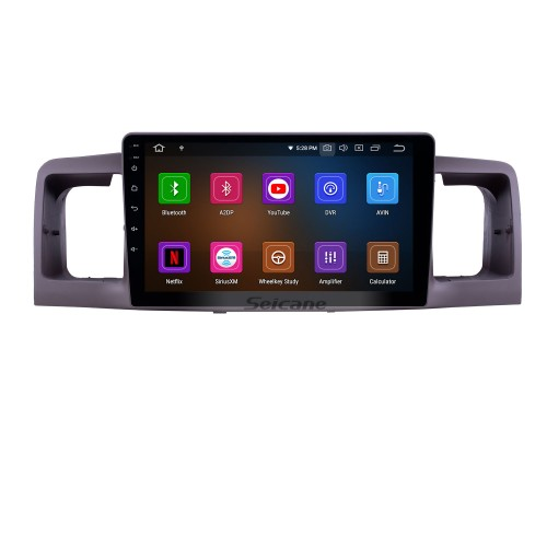 Android 10.0 9 inch GPS Navigation Radio for 2006-2013 Toyota Corolla with HD Touchscreen Carplay USB Bluetooth support DVR Digital TV