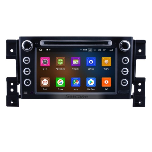 7 inch Android 10.0 GPS Navigation Radio for 2006-2010 Suzuki Grand Vitara with HD Touchscreen Carplay Bluetooth support 1080P DVR