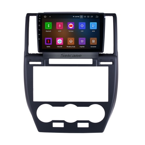OEM 9 inch Android 10.0 for 2007 2008 2009-2012 Land Rover Freelander Radio Bluetooth HD Touchscreen GPS Navigation Carplay support TPMS