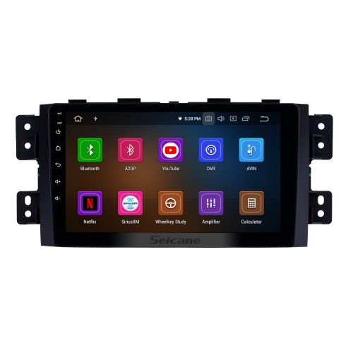 9 inch Android 10.0 HD Touch Screen Radio GPS Navigation system for 2008-2016 Kia Borrego Bluetooth DVD player DVR Rearview camera TV Video WIFI Steering Wheel Control USB Mirror link OBD2