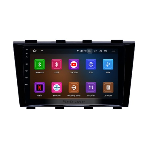 Android 10.0 9 inch GPS Navigation Radio for 2009-2015 Geely Emgrand EC8 with HD Touchscreen Carplay Bluetooth support Digital TV