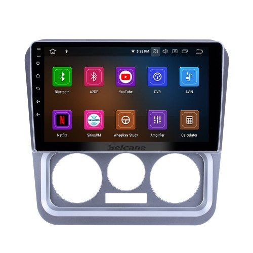 HD Touchscreen For 2009 2010 2011 2012 2013 Geely Ziyoujian Radio Android 10.0 9 inch GPS Navigation Bluetooth Carplay support Backup camera