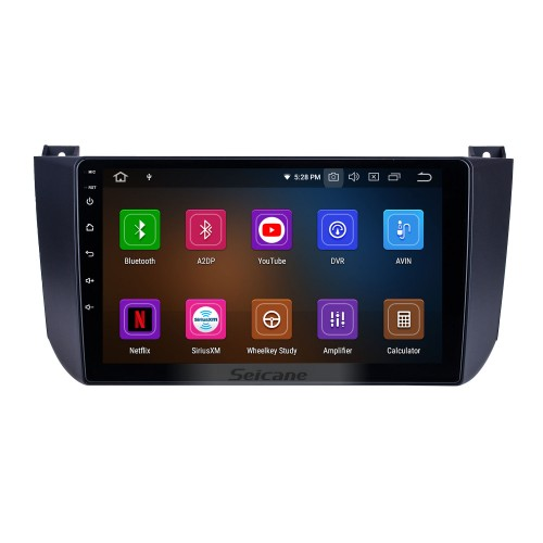 Android 10.0 for 2009 2010 2011 2012 Changan Alsvin V5 Radio 9 inch GPS Navigation System with HD Touchscreen Carplay Bluetooth support TPMS