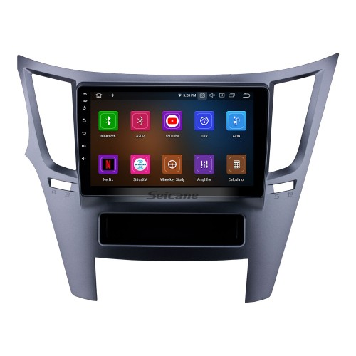 OEM 9 inch Android 10.0 Radio for 2010-2014 Subaru Outback/Legacy LHD Bluetooth Wifi HD Touchscreen GPS Navigation Carplay USB support 4G SWC RDS OBD2 Digital TV
