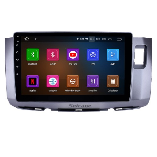 10.1 inch Android 10.0 Radio for 2010 Perodua Alza Bluetooth HD Touchscreen GPS Navigation WIFI Carplay USB support TPMS DAB+ OBD2 Digital TV